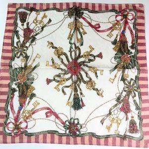 Fendi Mini Scarf/Handkerchief in baroque print